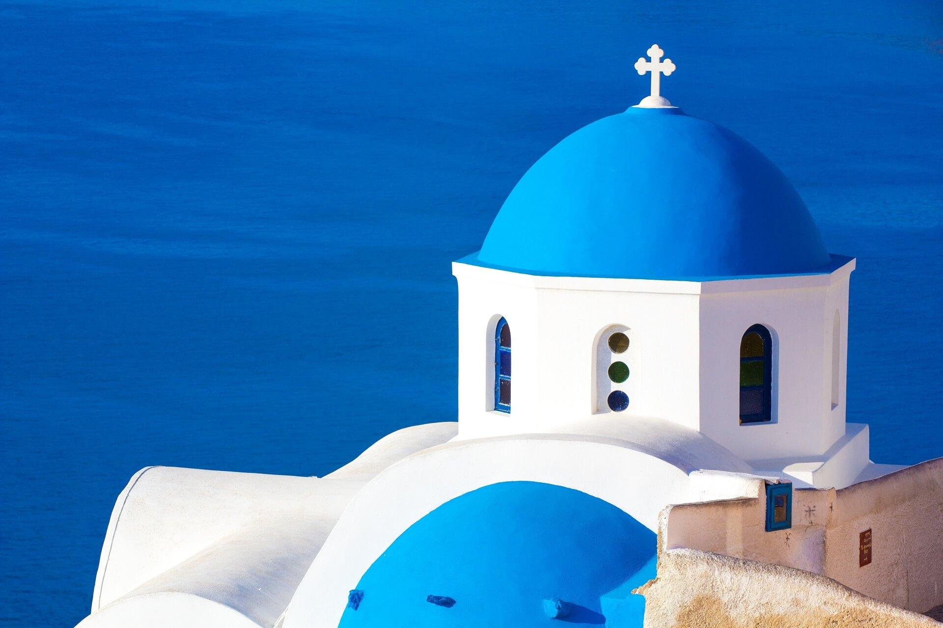 Santorini Chapels - History of Santorini - La Mer Deluxe Hotel & Spa